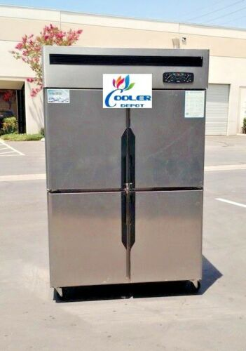 NEW 4 Door Refrigerator Freezer Combo Restaurant Kitchen Equipment Model R32