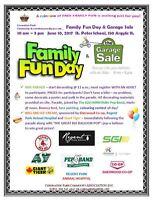 Coronation Park Family Fun Day & Garage Sale
