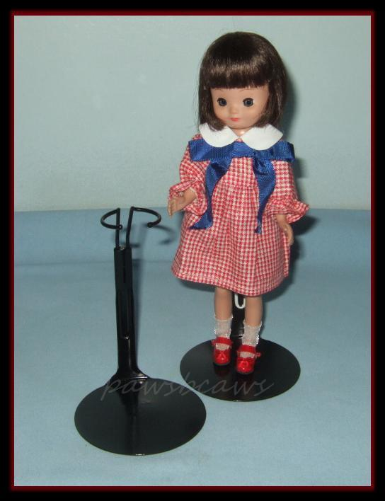 Black Kaiser 8 Tiny Betsy Mccall Doll Stand For Vintage 9 Skipper Penny Brite