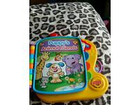 Fisherprice puppy's animal friends electronic book