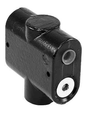 Hydraulic Spool Flow Divider 34 Npt Ports 16-30 Gpm