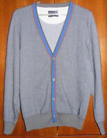 New Sergio Tacchini Grinta Tricot Cardigan Sweater Size S 100Eur