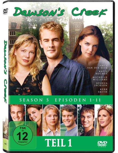 3 DVDs * DAWSON'S CREEK - STAFFEL / SEASON 5.1 # NEU OVP <