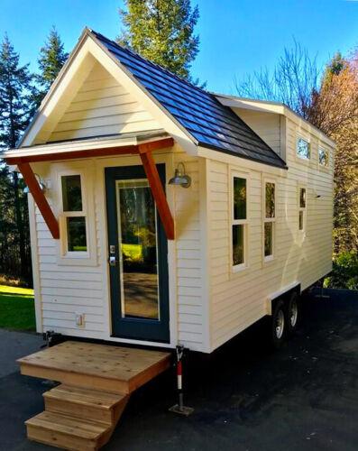 New 2021 26 ft Tiny House on Wheels Custom Home Shell Tiny Home RV