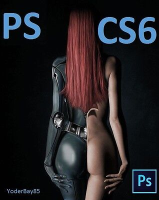 Adobe Photoshop CS6 Extended (PC) Full Version - With License DVD