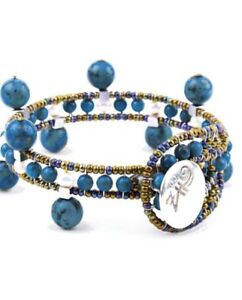 BRACELET CROWN LAPIS