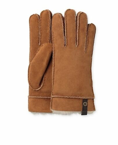 UGG Gloves Tenney Sheep Shearling Chestnut Size S or M