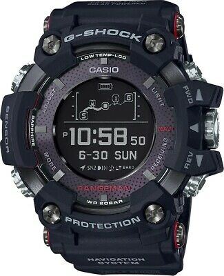 Casio G-Shock Rangeman Solar GPS Navigation Bluetooth Men's Watch - GPRB1000-1