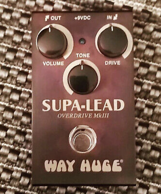 Way Huge Smalls WM31 Supa-Lead Overdrive MkIII FX Pedal