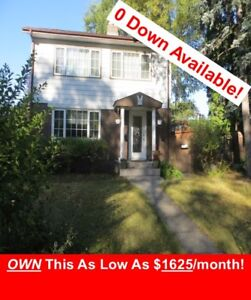 OWN this as low as $1625/month. ZERO DOWN options available