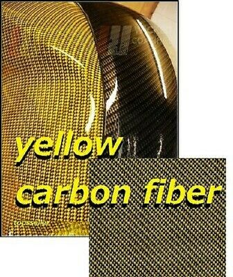 Gold Carbon Fiber Y Water Transfer Dipping Hydrographic Hydro Film 0.5x2m Us Uk