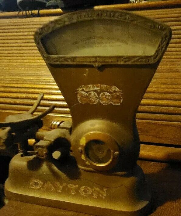 Antique 1900 Computing Scale Company Dayton Ohio 166 Country Store Candy Scale
