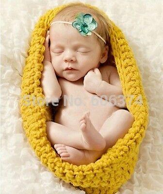 Fotoshooting Baby Fotografie Strick Cocoon Kostüm Neugeborenen - Neugeborenen Jungen Kostüm