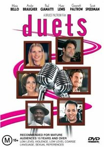 DUETS-DVD-Gwyneth-Paltrow-Huey-Lewis-ROMANTIC-COMEDY-Sealed-R4