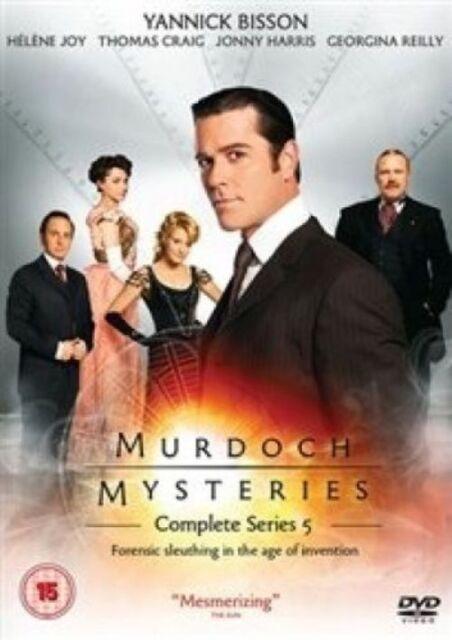 Murdoch Mysteries Series 5 New DVD Region 4