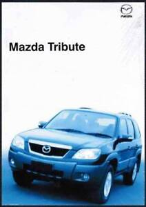 mazda tribute 2001 manual download free