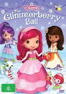 Strawberry-Shortcake-The-Glimmerberry-Ball-DVD-region-4-Like-New