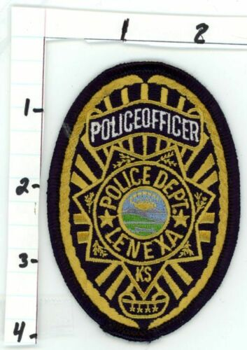 LENEXA POLICE KANSAS NEW PATCH SHERIFF