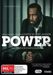 Power : Season 4 (DVD, 2018, 3-Disc Set)