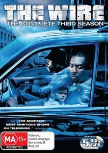 The-WIRE-Complete-Third-SEASON-HBO-TV-SERIES-3-5-DVD-SET