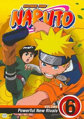 NARUTO - VOL. 6: POWEFUL NEW RIVALS NEW DVD