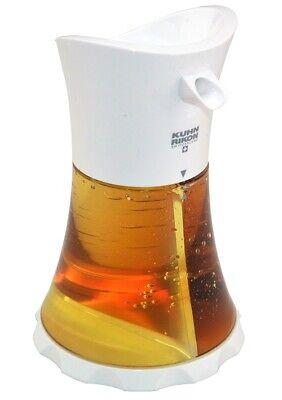 Kuhn Rikon Aceite / Vinagre Dispensador Blanco,Fácil Y Estilizada Almacenamiento