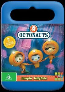 OCTONAUTS-Jumpin-039-Jellyfish-DVD-2012-BRAND-NEW-FREE-POSTAGE