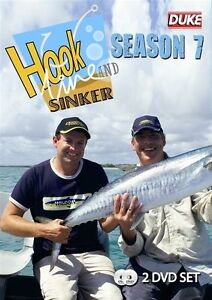 HOOK LINE & SINKER SEASON 7 DVD (2 DISC) - BRAND NEW & SEALED- 2 DVD SET FISHING