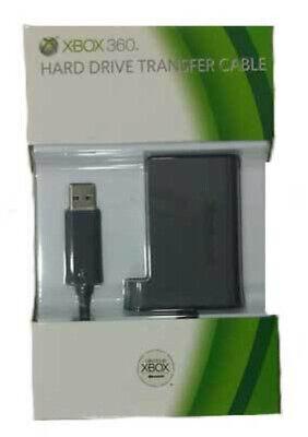 MICROSOFT XBOX 360 HARD DRIVE TRANSFER CABLE TRANSFERENCIA DE DISCO DURO