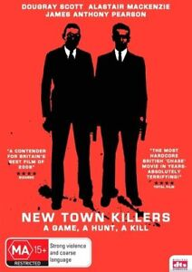 New Town Killers (DVD, 2009) New & Sealed