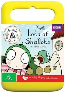 New - Sarah & Duck - Lots of Shallots and Other Stories - DVD - ABC Shop