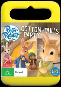 Peter Rabbit - Cotton-Tail's Party (DVD, 2017) Brand New & Sealed Region 4