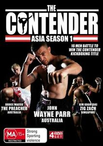 The Contender (Asia) : Season 1 (DVD, 2010, 4-Disc Set) New/Sealed Fighting MMA
