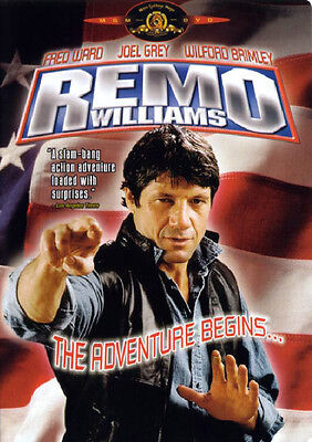 REMO WILLIAMS - THE ADVENTURE BEGINS (DVD, 1985) - NEW RARE DVD