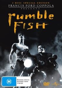 Rumble-Fish-NEW-amp-SEALED-DVD-Francis-Ford-Coppola-Matt-Dillon-Single-Disc-ed