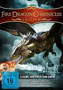 Fire Dragon Chronicles - Edition - Jürgen Prochnow - 3 Filme DVD-Box - Germany, Deutschland - Fire Dragon Chronicles - Edition - Jürgen Prochnow - 3 Filme DVD-Box - Germany, Deutschland