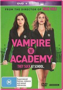 Vampire Academy (DVD, 2014) regions 2,4