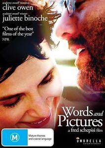 Words And Pictures (DVD, 2014) R4 BRAND NEW SEALED - FREE POST!