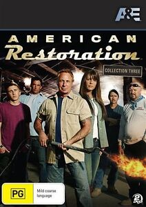Did American Restoration Get Cancelled >> American Restoration Collection 3 Dvd 2013 2 Disc Set
