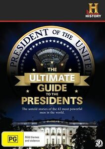 THE ULTIMATE GUIDE TO THE PRESIDENTS 3DISC-SET, Region: 4