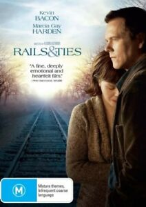 Rails and Ties (DVD, 2008) Kevin Bacon Brand New & Sealed R4 CLEARANCE