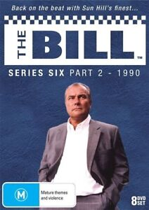 THE BILL - SERIES 6, PART 2 (8 DVD SET - LIMITED EDITION) NEW!!! SEALED!!!