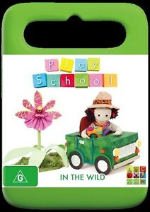 Play School - In The Wild (DVD, 2014) NEW R4