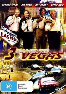 3 DAYS TO VEGAS - George Segal/Bill Cobs/Peter Falk -Brand New DVD -All regions
