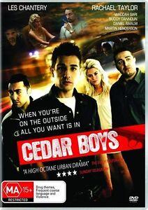 Cedar Boys (DVD, 2009) brand new sealed dvd drama