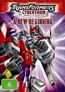 Transformers Cyberton - A New Beginning (DVD, 2005)