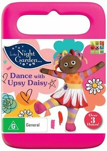 IN THE NIGHT GARDEN - DANCE WITH UPSY DAISY (DVD, 2015) BRAND NEW - QUALITY ABC