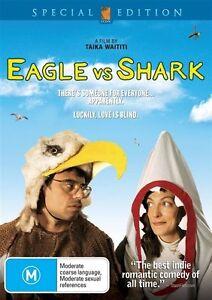 Eagle Vs Shark (DVD, 2008) PAL Region 4 🇦🇺 Brand New Sealed Free Postage