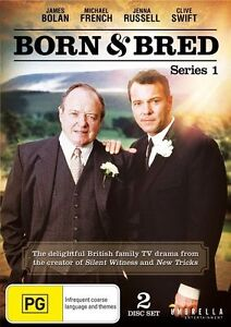 Born and Bred : Series 1 (DVD, 2013, 2-Disc Set) BRAND NEW/SEALED .. R 4