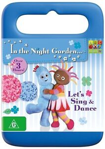 IN THE NIGHT GARDEN - LET'S SING AND DANCE (DVD, 2014) BRAND NEW - RATED G